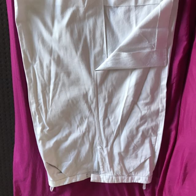 High Waist White Skirt In A Good Condition