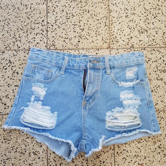 Highweist Ripped Jeans