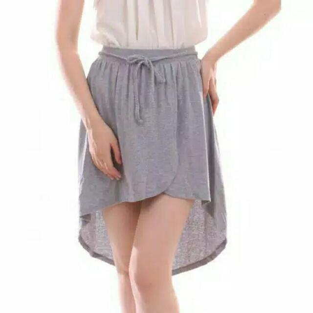 HILO Skirt Gray And Beige