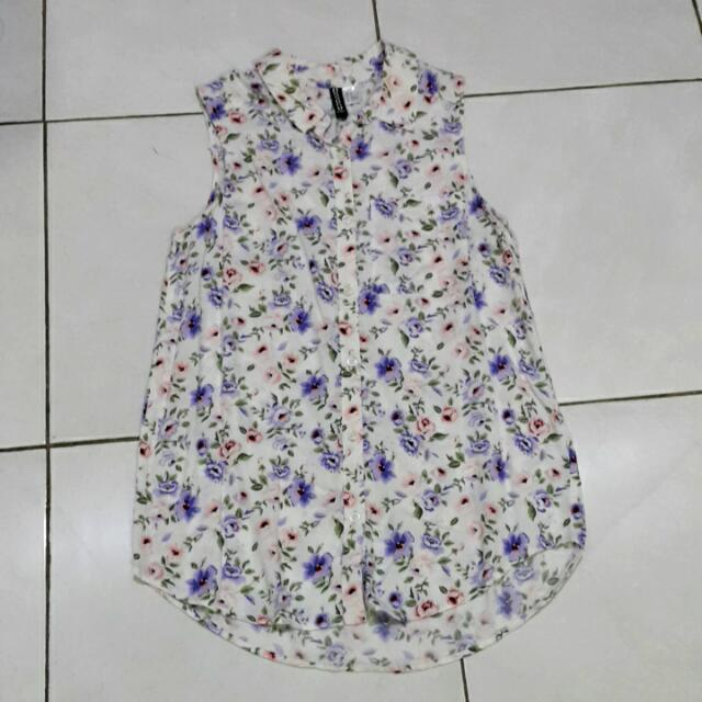 H&M Floral Sleeveless