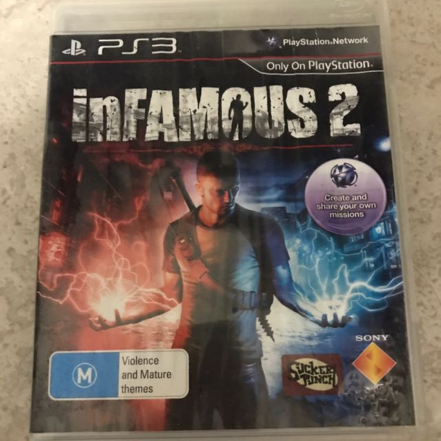 Infamous 2 Play Station 3 PS3