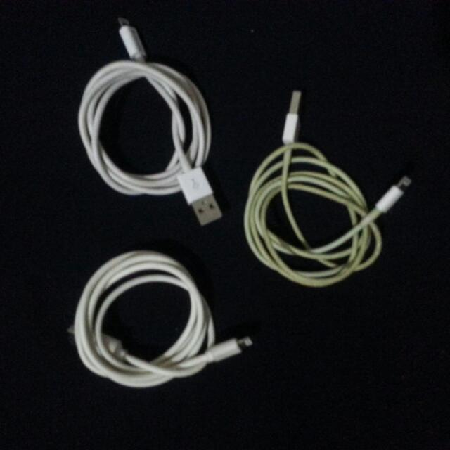 TAKE ALL FOR 300  IPHONE USB CHARGER CORD