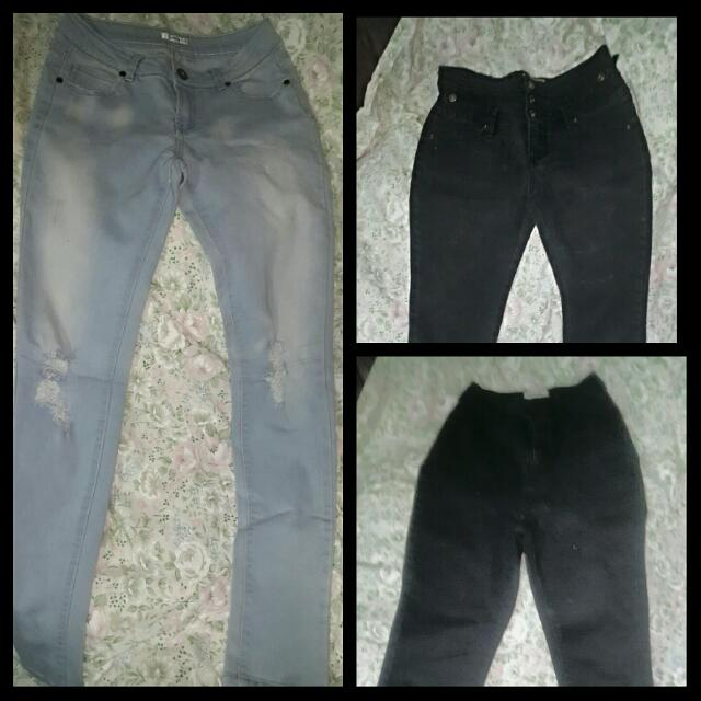 Jeans - AS New Size 8 & 10