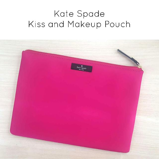 Kate Spade Kiss and Makeup Pouch