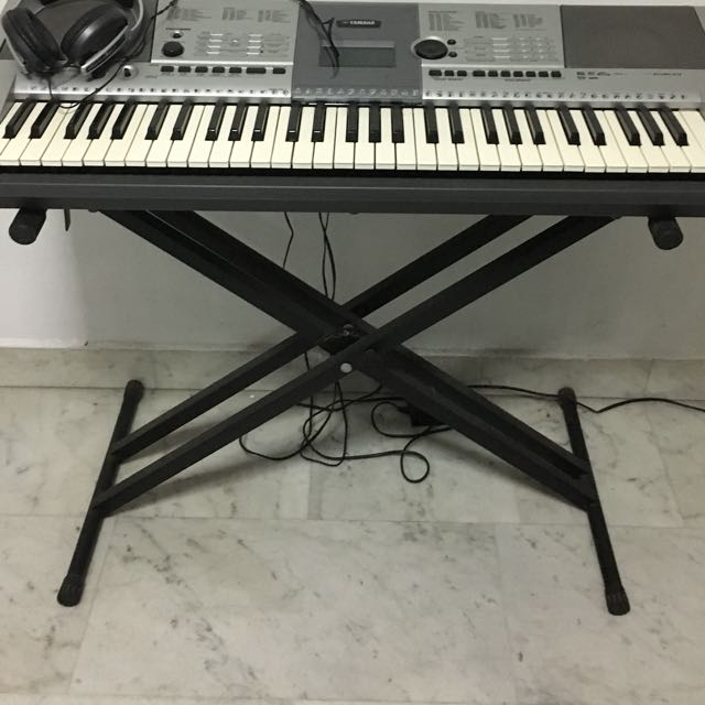 Keyboard Stand (double X-braced)