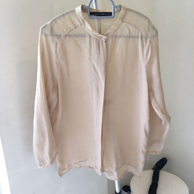 35fd594c5f586 lady top (xs-s size) Zara