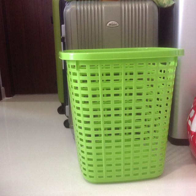 Laundry Basket & Cable Organizer