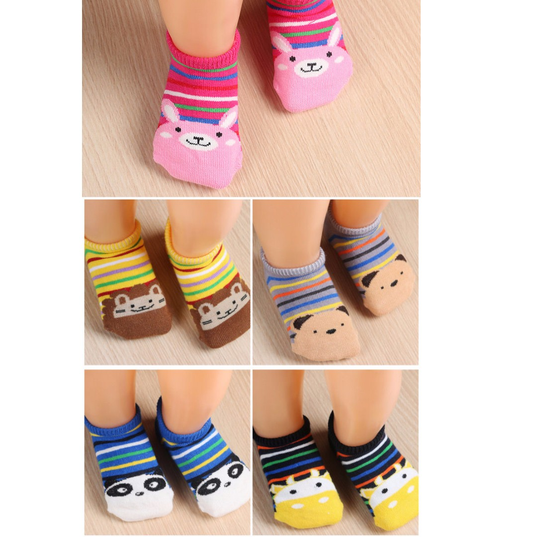 Line cute socks
