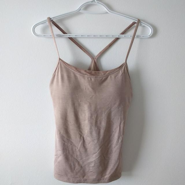 Lululemon Nude Workout Bra & Tank