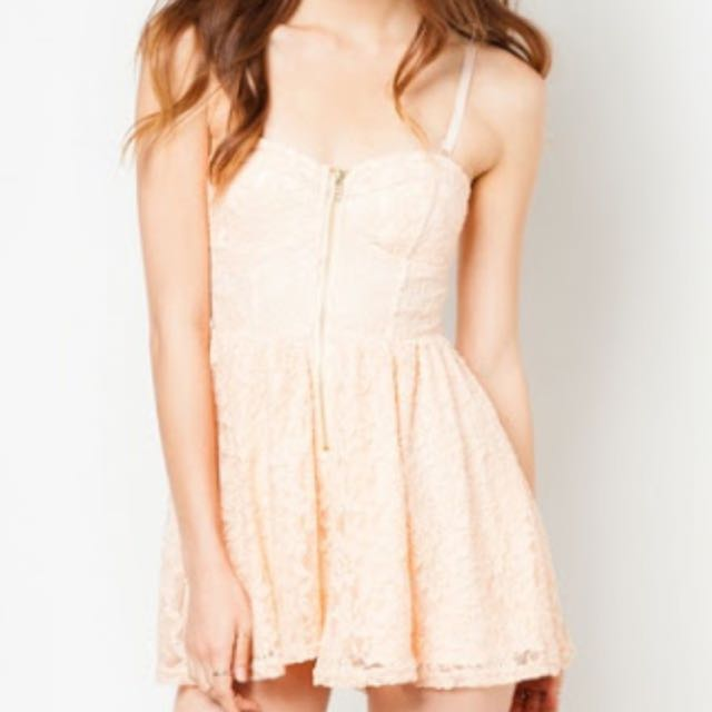 Material Girl Lace Corset Playsuit