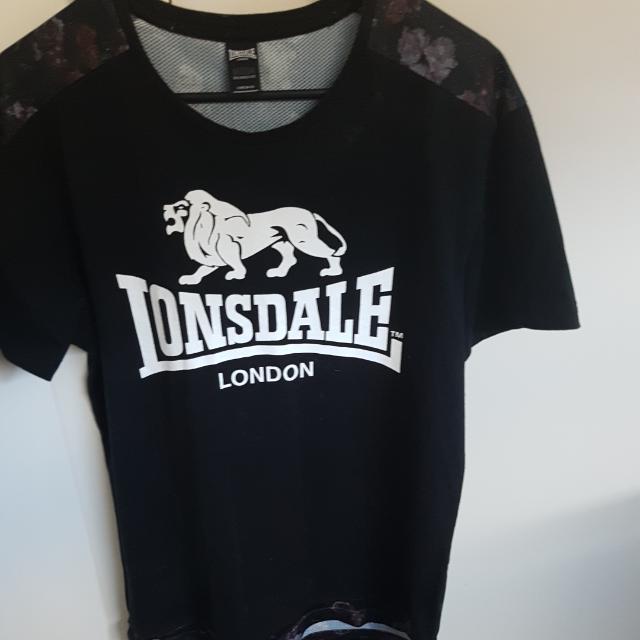 Mens Lonsdale T Shirt Size M