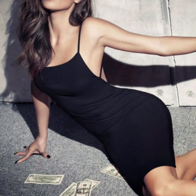 Missguided Backless Dress