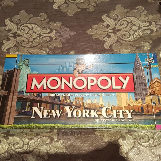 Monopoly New York Collectors Edition