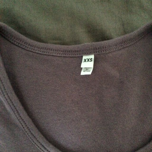 MUJI lavender T-shirt