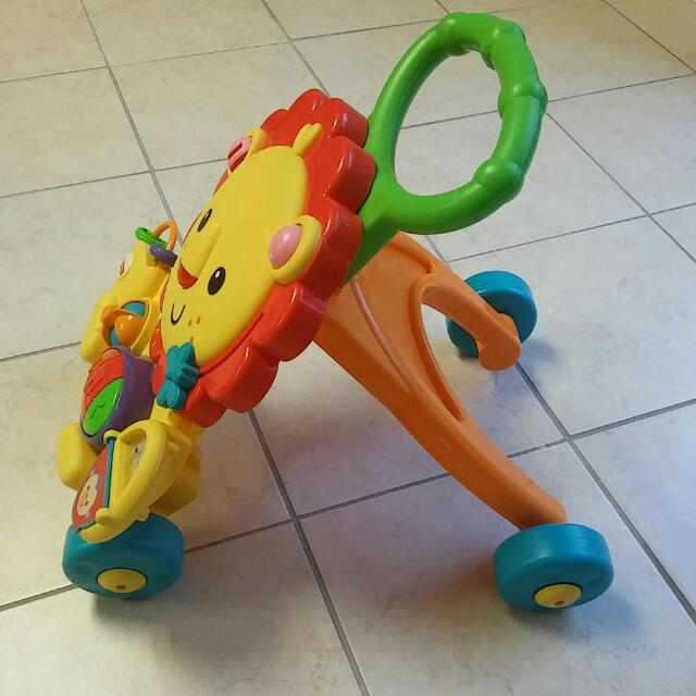 musical baby walker