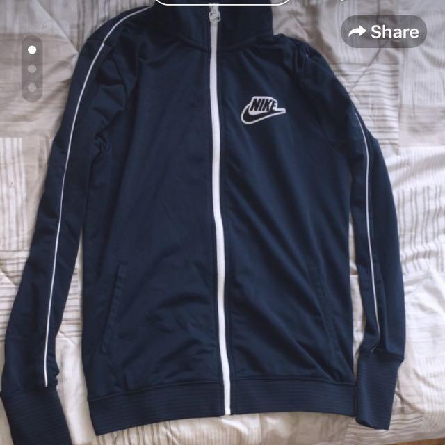 Navy Blue Nike Zip-up Jacket