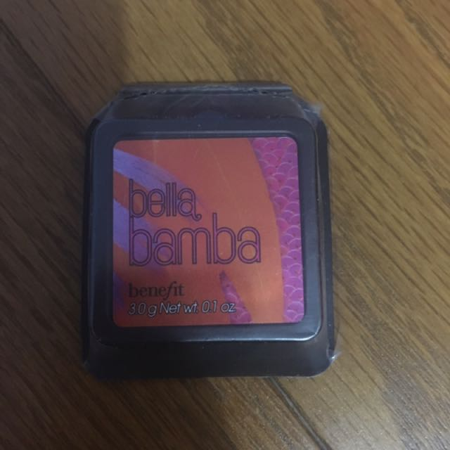 New Blush Bella Bamba Travel Size By Benefit