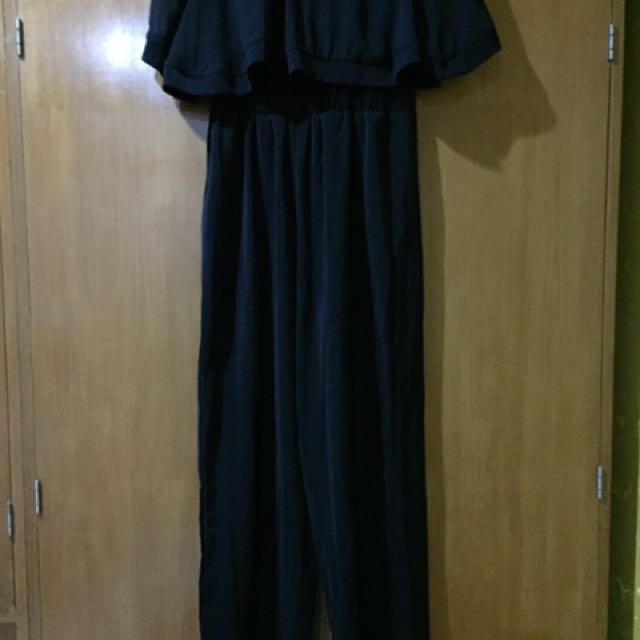 NO BRAND BLACK SABRINA JUMPSUIT