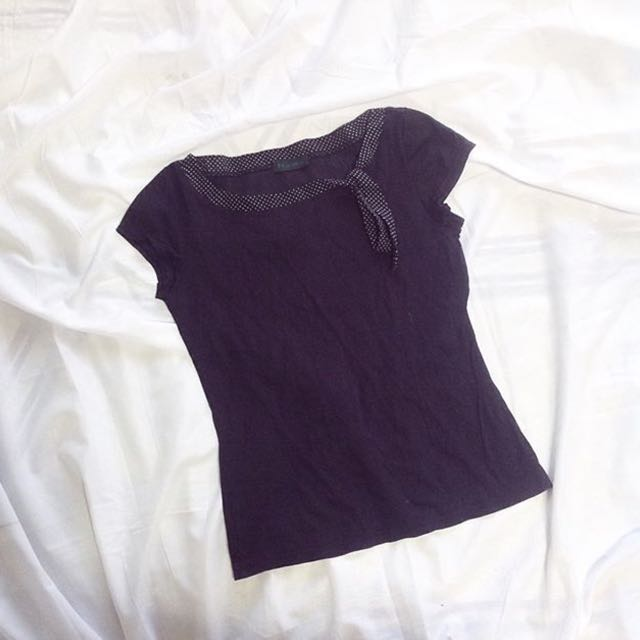 nyma tie knot top