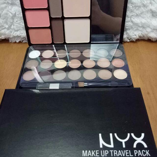 NYX Eye shadow Make Up Travel Pack