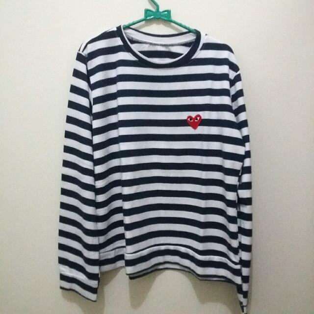 Patch CDG Stripe Tee