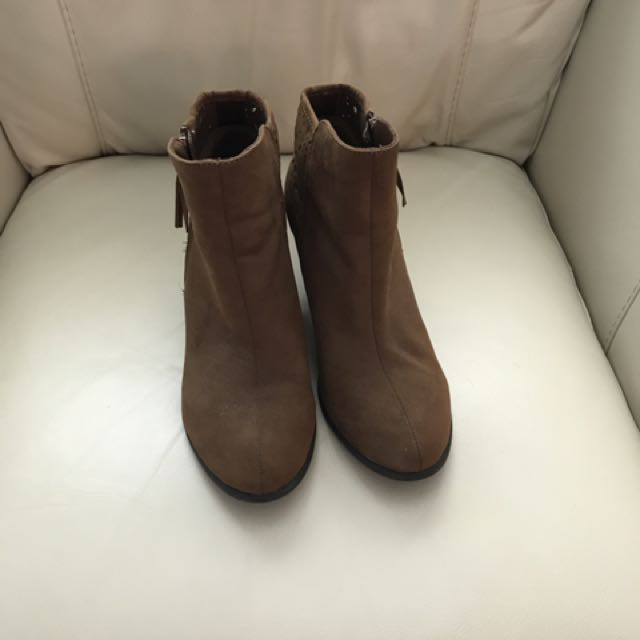 Payless Brown Bootie