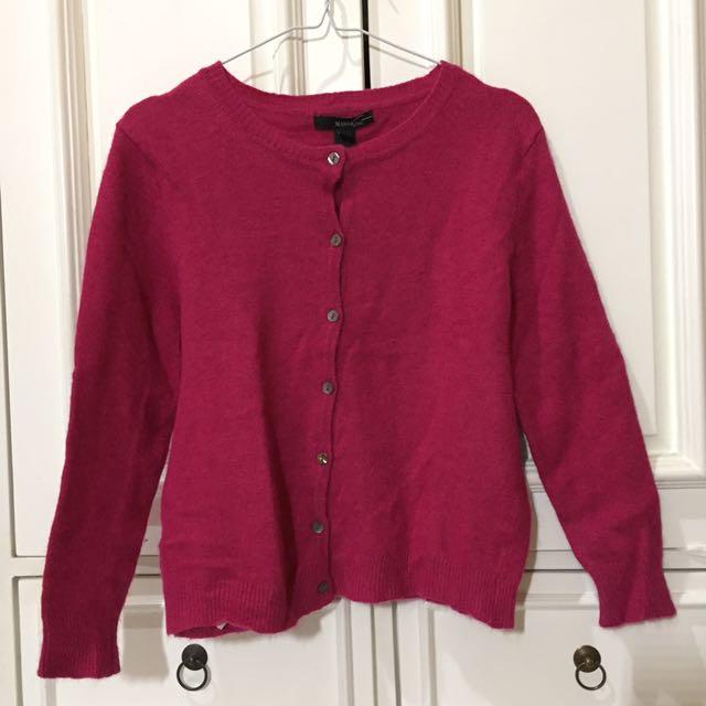 Pink Sweater by Mango