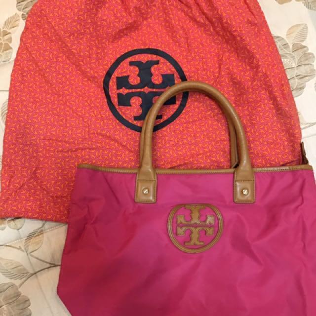 Pink Tory Burch Bag/Tote