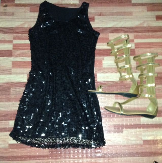 Preloved sparkly party dress