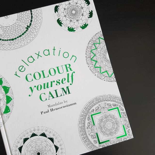 Relaxation Color Yourself Calm