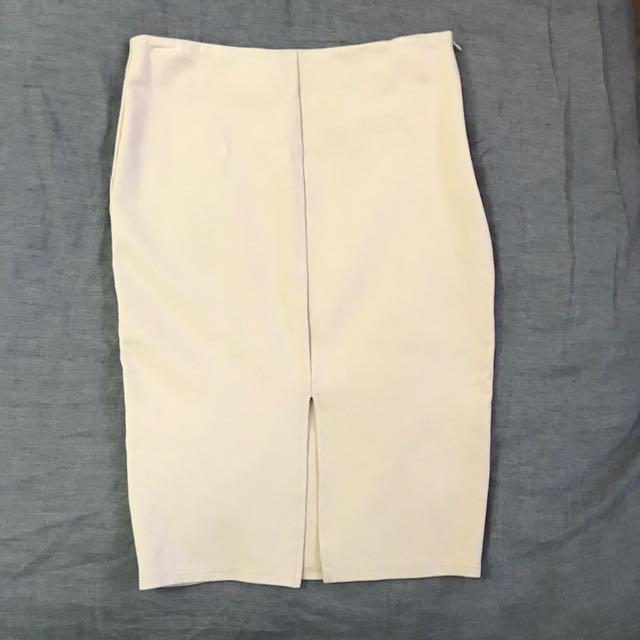 Rosebullet Nude Skirt