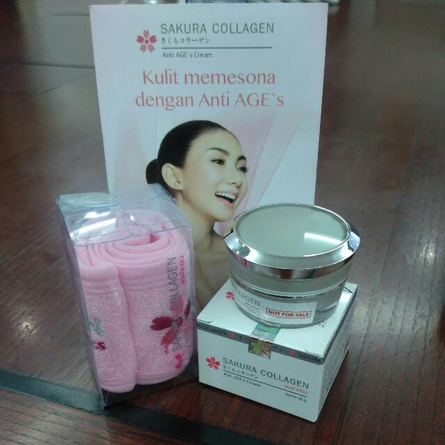 Sakura Collagen Anti AGE's Cream