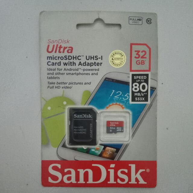Sandisk Ultra 32 GB