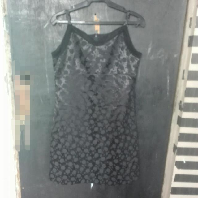 Silk Black Dress