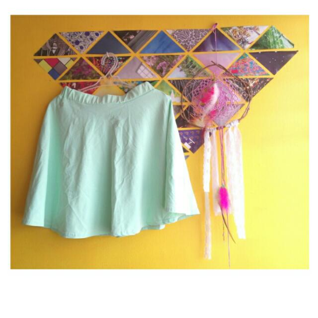 Skater Skirt (Mint Green)