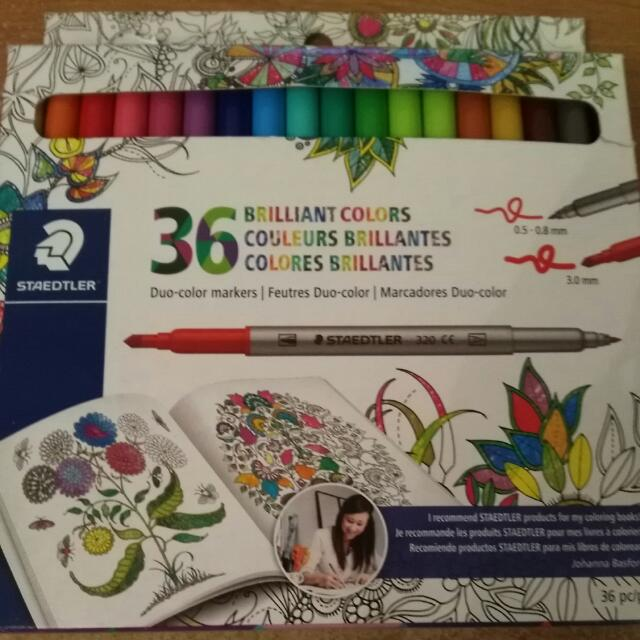 Staedler Duo-colour Markers