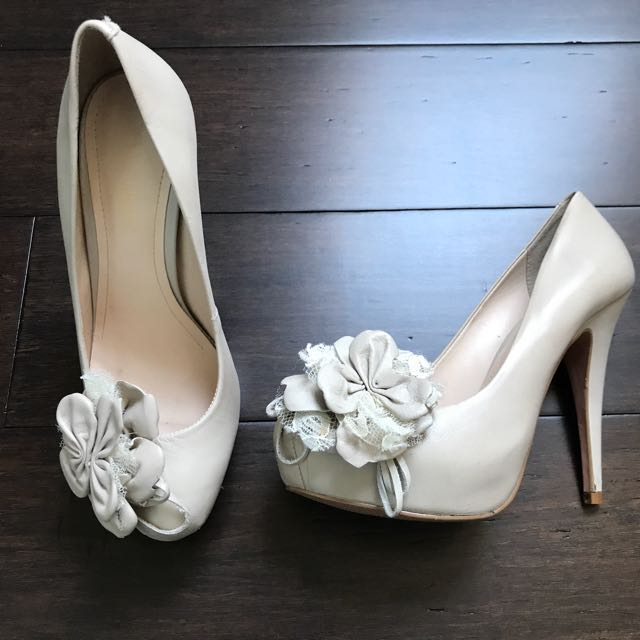 Stunning Leather Shoes Size 6