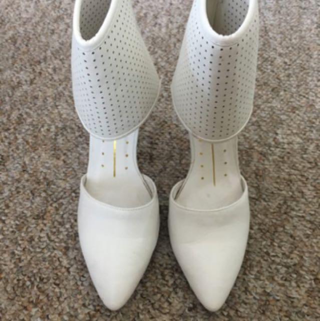 Stunning White Heels