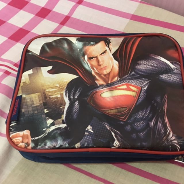 Superman Lunch Box Thermos