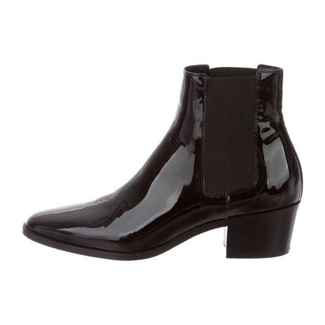 Tamara Mellon Size 39 / 8.5 Patent Leather Ankle Boots