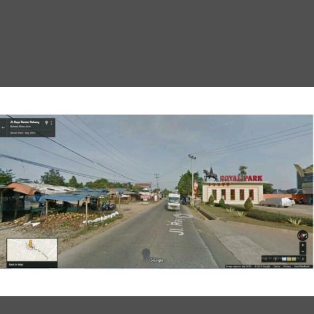 Tanah luas 5.400 m Lokasi pinggir jalan raya utama pedurenan kec mustika jaya kota madya bekasi