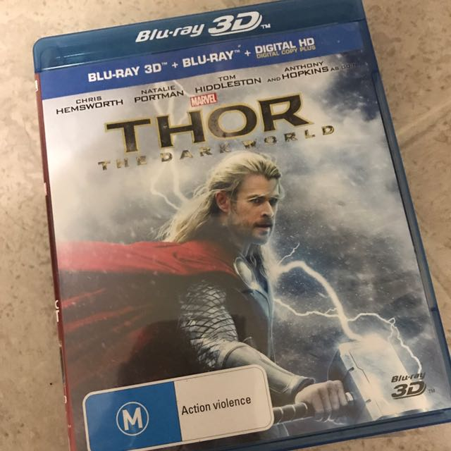 Thor The Dark World 3D