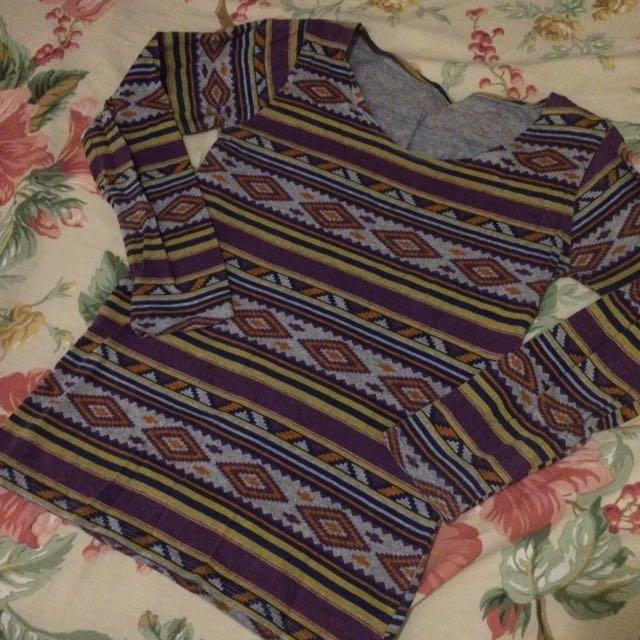Tribal Long-sleeved Shirt