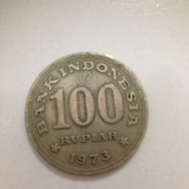 Uang Koin Rp.100 1973