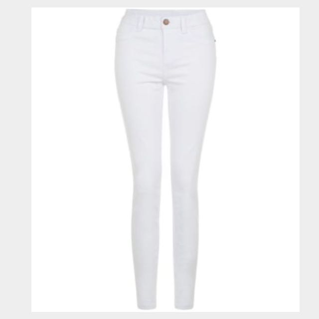 White super skinny jeans #Sunrisetv