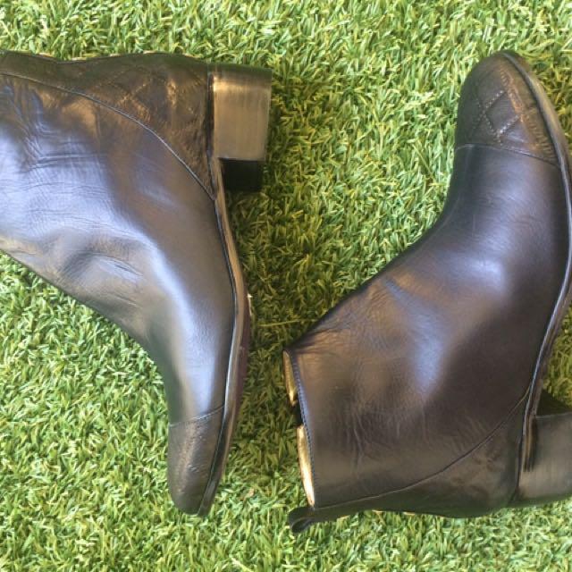 Women's Peep Toe Boots -39