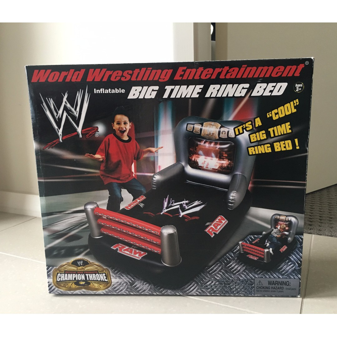 Wwe Inflatable Big Time Ring Bed Babies Kids Others On