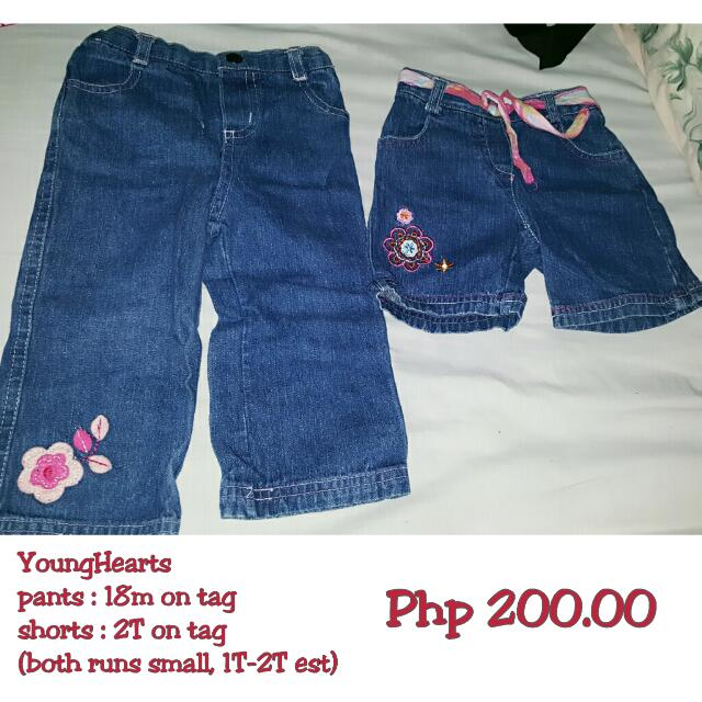 YoungHearts Pants And Short