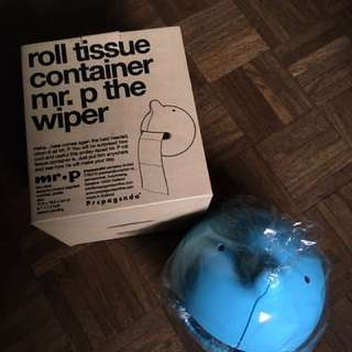 Mr. P Wiper Tissue Roll Container