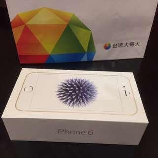 iPhone 6 2017限定版 金色32G